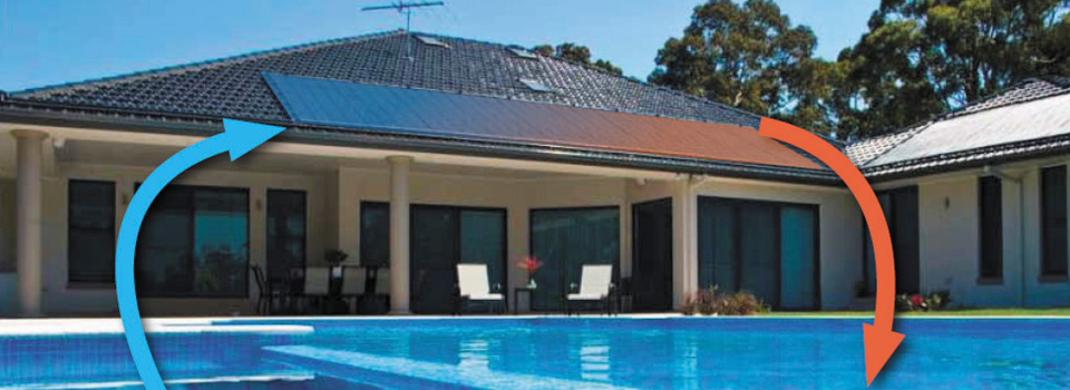 How it works - solar pool heating